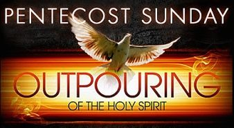 Pentecost Sunday Ooutpouring Of The Holy Spirit